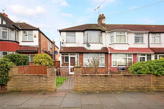 3 bed end terrace house for sale in Woodhouse Avenue, Perivale, Greenford