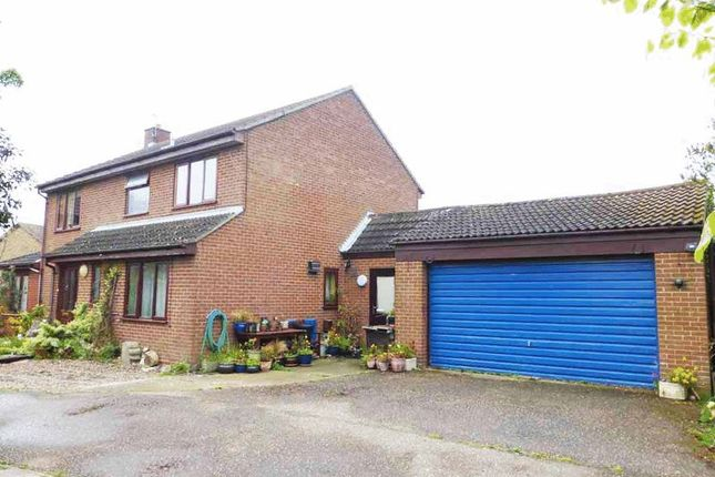Thumbnail Detached house for sale in Fell Way, Bradwell, Great Yarmouth