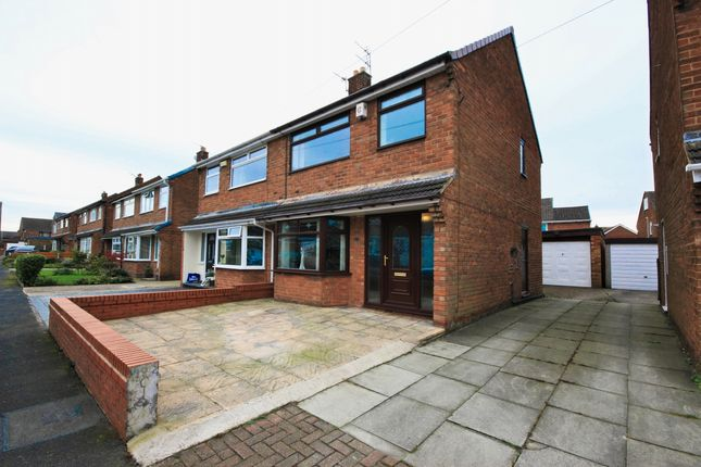 Thumbnail Semi-detached house for sale in Annesley Crescent, Wigan