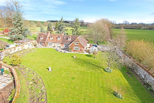 Thumbnail Detached house for sale in North Houghton, Stockbridge, Hampshire
