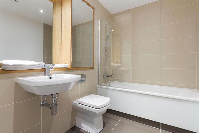 Bathroom of Admirals Tower, 8 Dowells Street, New Capital Quay, Greenwich, London SE10