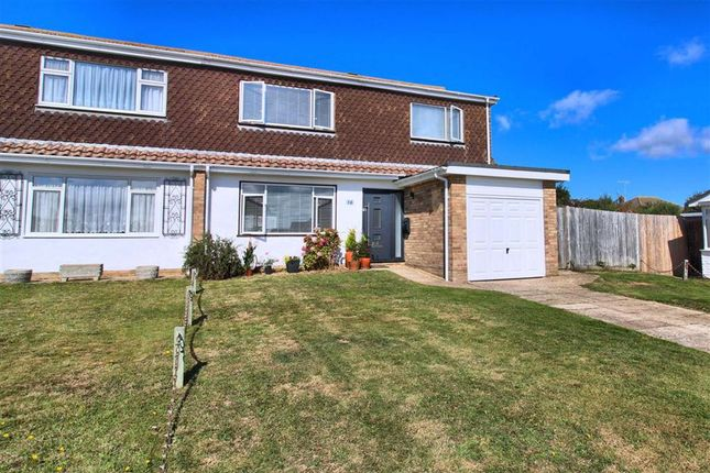 Thumbnail Semi-detached house for sale in Northfield Close, Seaford, East Sussex