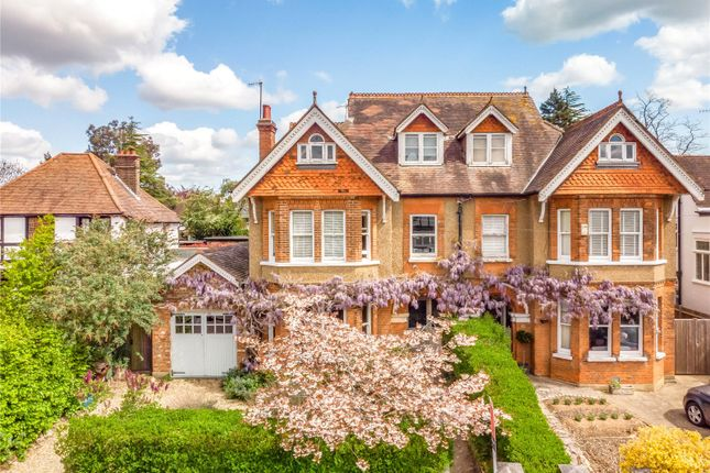 Thumbnail Semi-detached house for sale in Belmont Road, Bushey, Hertfordshire