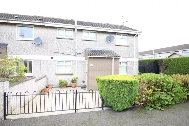Thumbnail End terrace house to rent in Firmount Drive, Muckamore, Antrim