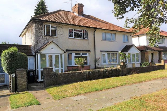 Thumbnail Semi-detached house for sale in The Harebreaks, Nth Wat, Watford