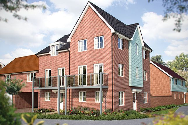 """Thumbnail Semi-detached house for sale in """"The Taunton"""" at Hill Farm Close, Newmarket Road, Cringleford, Norwich"""