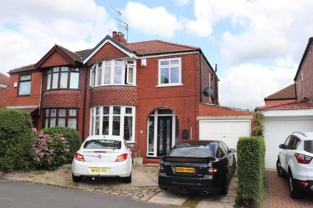 Front of Ludlow Road, Offerton, Stockport, Cheshire SK2