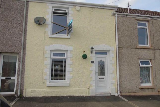 Thumbnail Terraced house for sale in Dinas Street, Plasmarl, Swansea