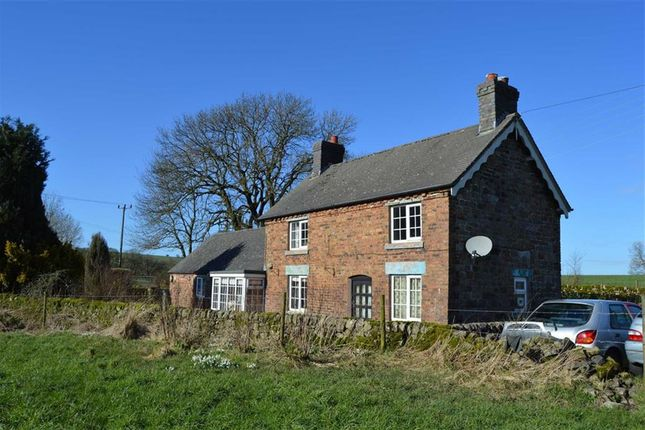 Thumbnail Cottage for sale in Church Road, Cauldon, Stoke-On-Trent
