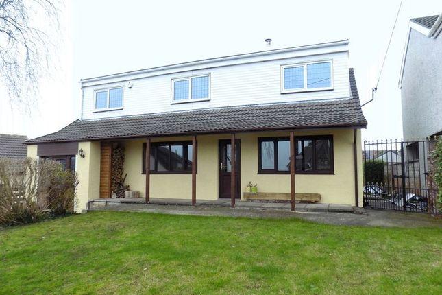 Thumbnail Detached house for sale in Y Llys Gellifedi Road, Brynna, Pontyclun, Rhondda, Cynon, Taff.