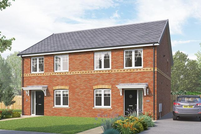 """Thumbnail Semi-detached house for sale in """"The Kilmington"""" at Greaves Lane, Stannington, Sheffield"""