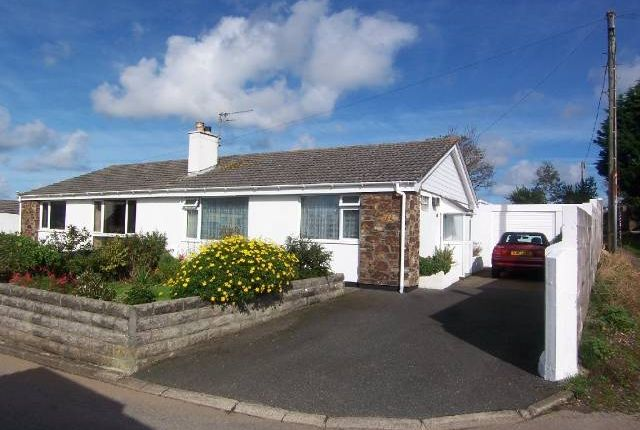 Thumbnail Semi-detached bungalow to rent in Roseland Park, Camborne, Cornwall