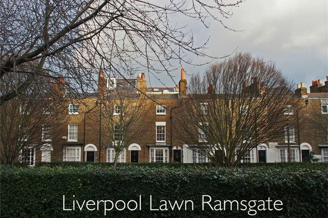 Thumbnail Terraced house for sale in Liverpool Lawn, Ramsgate
