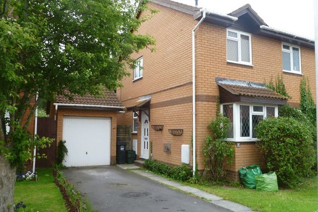 Thumbnail Semi-detached house for sale in Hobbiton Road, Worle, Weston-Super-Mare