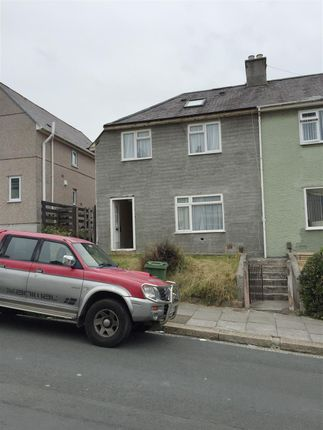 Thumbnail Semi-detached house for sale in Jephson Road, Plymouth