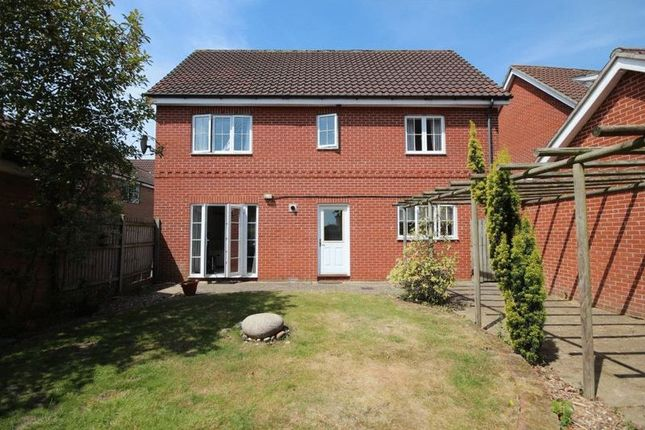Thumbnail Detached house to rent in Sunderland Close, Old Catton, Norwich