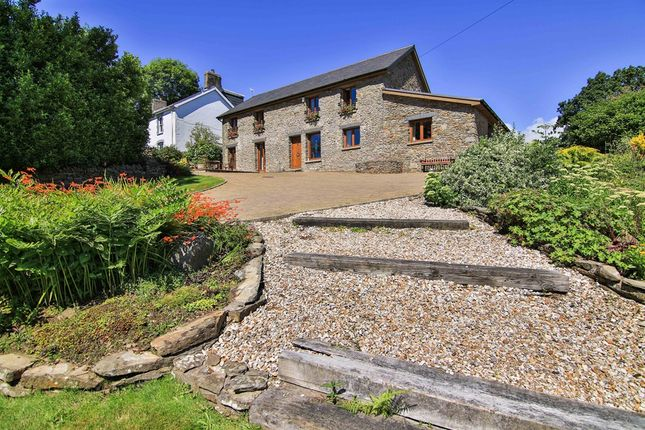Thumbnail Barn conversion for sale in Rhiwsaeson Road, Cross Inn, Pontyclun