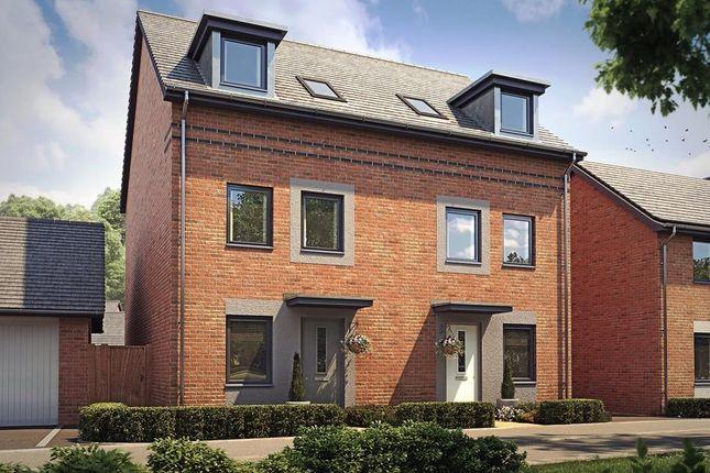 "Thumbnail Semi-detached house for sale in ""Norbury"" at Langaton Lane, Pinhoe, Exeter"