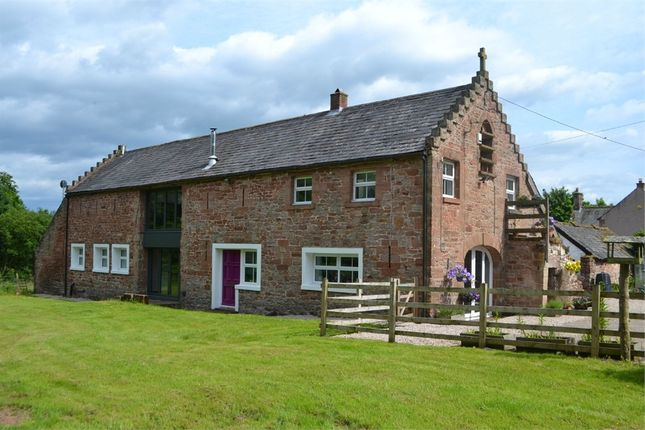 Thumbnail Detached house for sale in Longtown, Carlisle, Cumbria