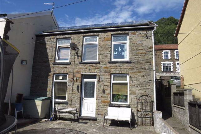 Thumbnail End terrace house for sale in Pantygraigwen Road, Graigwen, Pontypridd