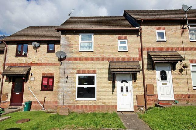 Thumbnail Terraced house for sale in Manor Chase, Beddau, Pontypridd, Rhondda, Cynon, Taff.