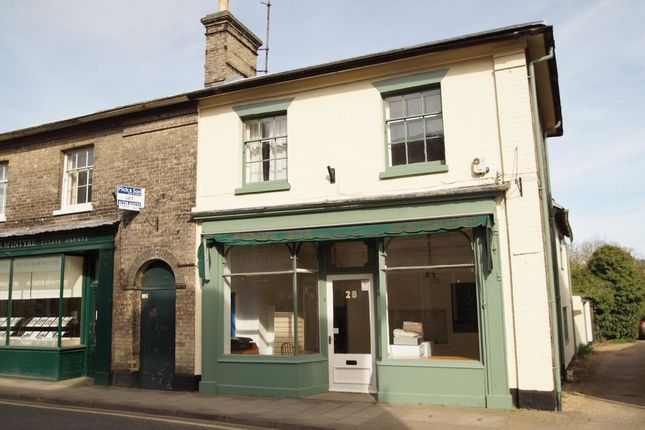 Thumbnail End terrace house for sale in High Street, Saxmundham