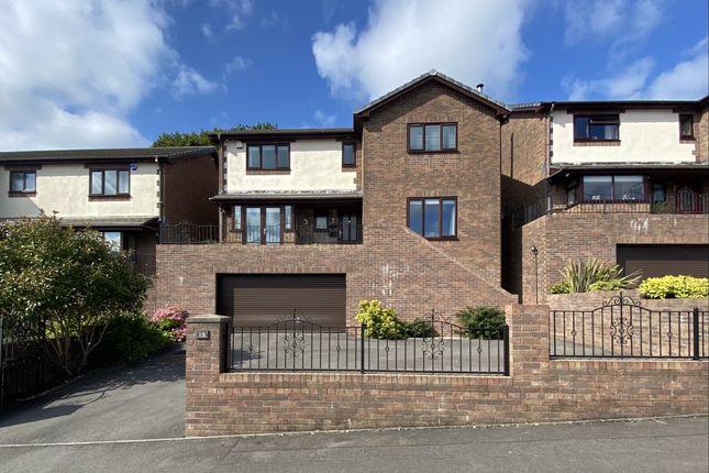 Thumbnail Detached house for sale in Laburnum Drive, Aberdare, Mid Glamorgan