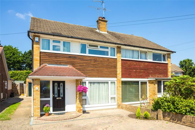 Thumbnail Semi-detached house for sale in Oakwood Avenue, Hutton, Brentwood, Essex