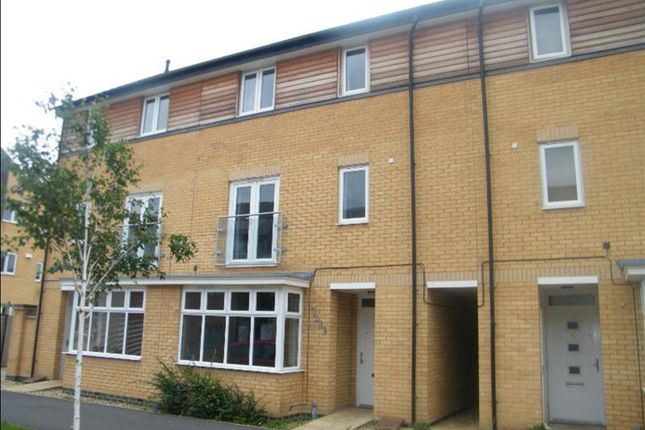 Thumbnail Terraced house for sale in Four Chimneys Crescent, Hampton Vale, Peterborough