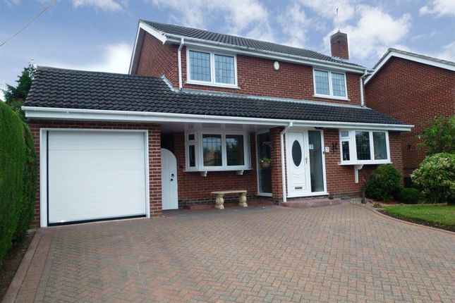 Thumbnail Detached house for sale in Walton Hill, Castle Donington, Derby