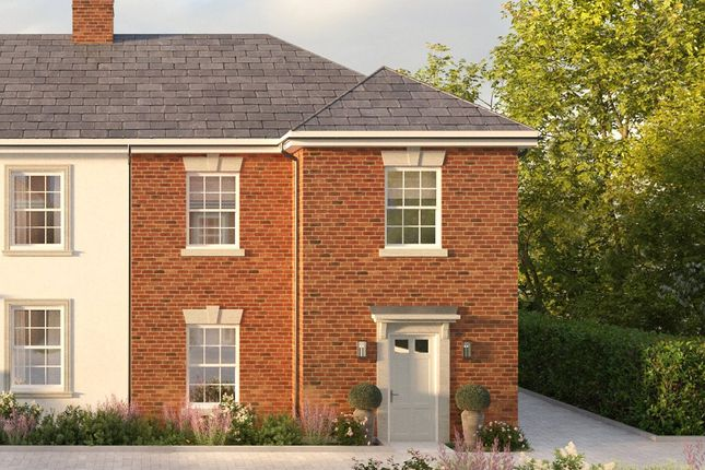 Thumbnail Semi-detached house for sale in The Close, Meadowlands, Winchester