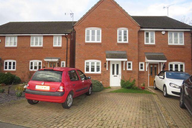 Thumbnail Semi-detached house for sale in Cedar Close, Old Stratford, Milton Keynes