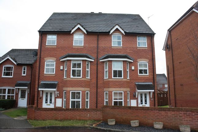 Thumbnail Town house to rent in Lady Acre Close, Lymm