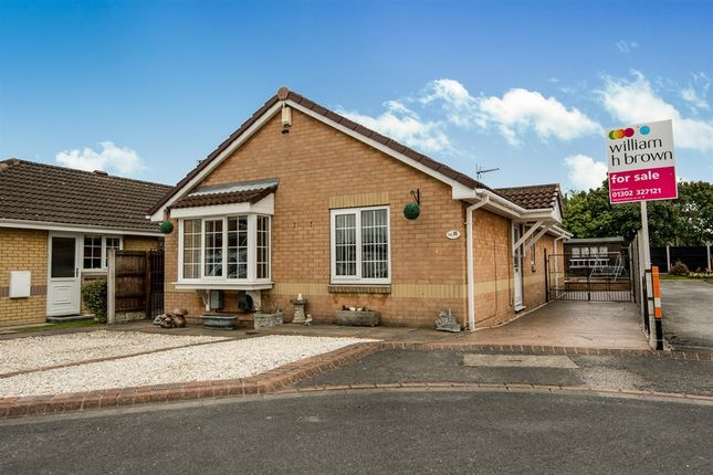 Thumbnail Detached bungalow for sale in Harvest Close, Edenthorpe, Doncaster