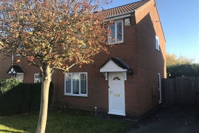 Thumbnail Semi-detached house to rent in Newquay Close, Hinckley