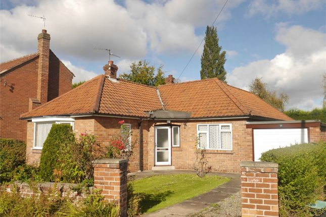 Thumbnail Detached bungalow for sale in Park Estate, Haxby, York