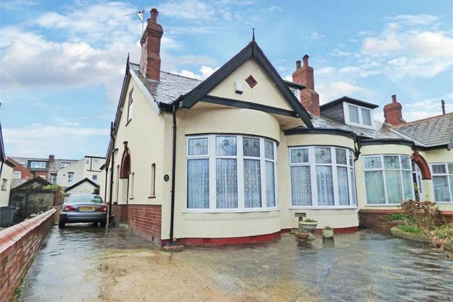 Thumbnail Semi-detached bungalow for sale in Carlin Gate, Blackpool, Lancashire