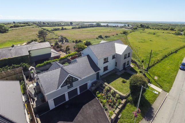 Thumbnail Detached house for sale in Heol Las, Maudlam, Bridgend