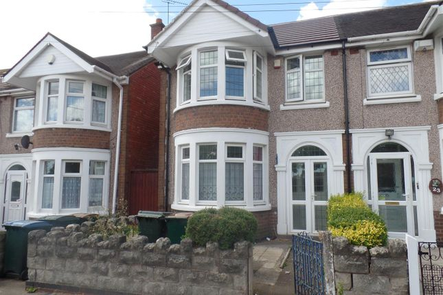 Thumbnail End terrace house to rent in Briton Road, Stoke, Coventry