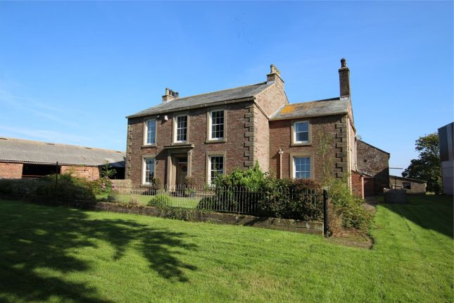 Thumbnail Detached house for sale in Wiggonby House, Wiggonby, Wigton, Cumbria