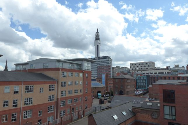 Thumbnail Flat to rent in Newhall Court, George Street, Hockley, Birmingham