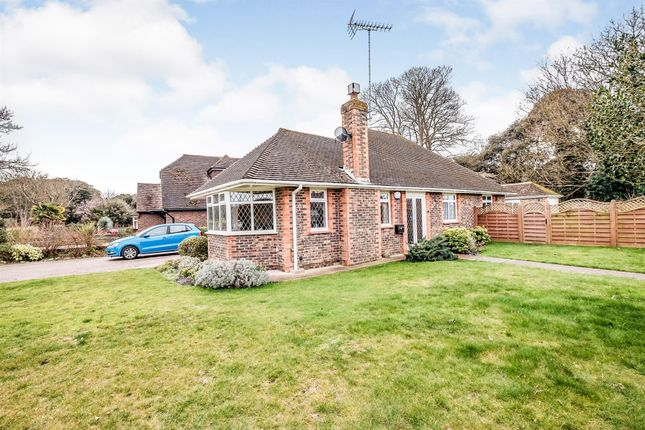 Thumbnail Detached bungalow for sale in Fernhurst Drive, Goring-By-Sea, Worthing