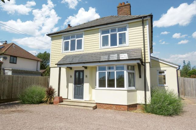 Thumbnail Detached house to rent in Bourn Road, Caxton, Cambridge