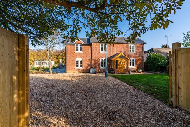 Thumbnail Detached house for sale in Crawley Hill, West Wellow, Romsey