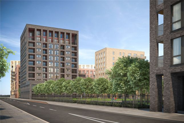 Thumbnail Flat for sale in Royal Albert Wharf, Docklands, London