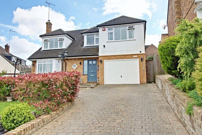 Thumbnail Detached house for sale in Farm Close, Cuffley, Potters Bar