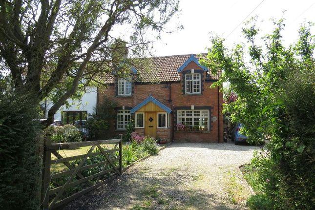 Thumbnail Cottage for sale in Badgworth Lane, Badgworth, Axbridge