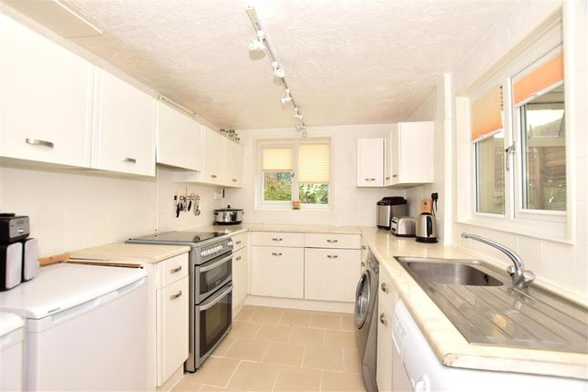 Thumbnail Terraced house for sale in Linden Crescent, Folkestone, Kent