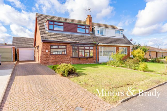 Thumbnail Semi-detached house to rent in Gage Road, Sprowston, Norwich