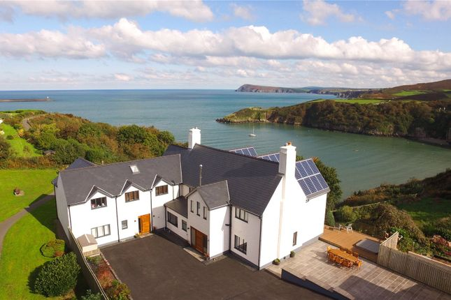 Detached house for sale in Llanpit Mawr, Sladeway, Fishguard, Pembrokeshire